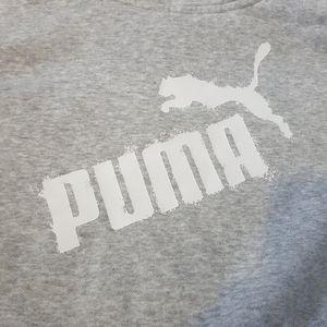 Puma Tops - 2/$25 Grey Puma pullover mock neck hoodie S